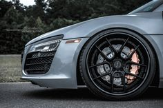 #Audi R8 V10 with Brixton Forged CM5 Targa Series #Wheels #cars #supercars #rims #sportscars #exotics #luxury More Featured Fitment >> http://www.motoringexposure.com/featured-fitment/
