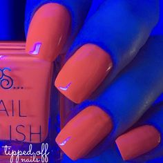 Primark PS Nail Polish Neons Orange Glow
