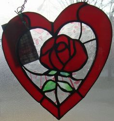 My Original Every Heart Has Its' Rose Original by GlassPaperRocks, $62.10