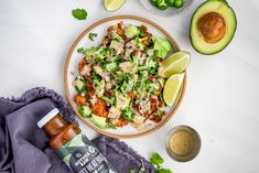 Buffalo Chickpea Tacos Chickpea Tacos, Vegan Tacos, Cooking Garbanzo Beans, Cauliflower Bites, Dairy Free Milk, Cooking Recipes, Healthy Recipes, Stuffed Jalapeno Peppers