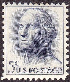 Washington 1962 Issue-5c - U.S. presidents on U.S. postage stamps - Wikipedia, the free encyclopedia