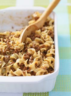 Beef Recipes: The Best Ways to Cook Using Steak or Ground Beef - page 6 Ricardo Recipe, Confort Food, Kebab, Beef And Noodles, Cooking On A Budget, Noodle Recipes, Healthy Dessert Recipes, Tasty Meals, Eat Healthy