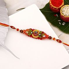 Traditional Beaded Thread Rakhi Raksha Bandhan Gifts, National Festival, Rakhi Online, Unique Gifts, Best Gifts, Casual Work Attire, Buy Gifts Online, Different Styles, Anniversary Gifts