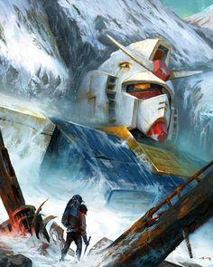 """Gundam"" by Mauro Belfiore."