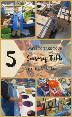 5 Ways to Take Your Sensory Table to the Next Level ~ Fairy Dust Teaching Sensory Tubs, Sensory Boxes, Sensory Diet, Sensory Play, Kindergarten Sensory, Sensory Activities For Preschoolers, Science Activities, Inquiry Based Learning, Project Based Learning