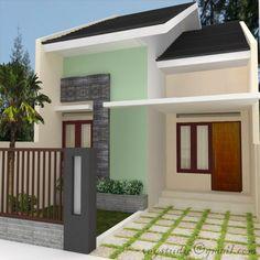 tips dekorasi dan desain rumah minimalis type 45 http
