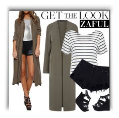 """""""Zaful SHOP"""" by monmondefou ❤ liked on Polyvore featuring Steve Madden and Boohoo"""