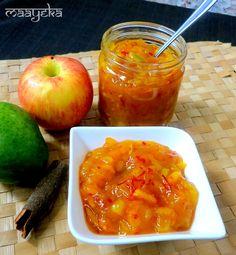 Apple and Raw Mango Chutney - Vegan