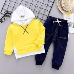 what better way than to dress the part with this cute outfit for your little ones. Spring Collection, Adidas Jacket, Cute Outfits, Hoodies, Pineapple, Cotton, Jackets, Trends, Yellow