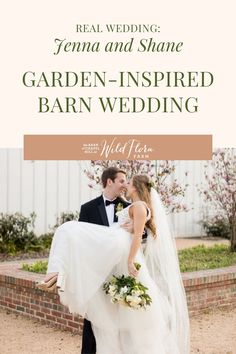 The Barn of Chapel Hill is a flower farm with an on-site floral design studio. See how Wild Flora Farm was able to create beautiful white and green floral arrangements to drape across the wooden cross and barn doors. Take a peek inside the wedding gallery for your own barn wedding floral inspiration.