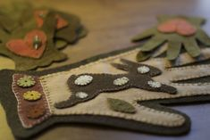 The Spotted Hare: stitching . . .