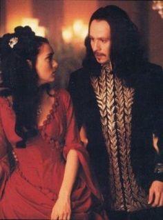 Winona Ryder as Mina with Gary Oldman as Dracula from  Bram Strker's Dracula