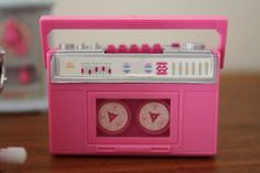 Wind Up Barbie Accessories- Boom Box by 1SweetDreamVintage, $30.00
