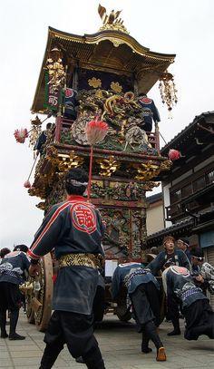 Hikiyama Festival, Toyama, Japan 曳山祭り