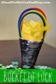 Bucket Of Luck {Kid Craft}