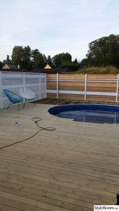 Min man sa en dag att han ville ha en pool i framtiden..