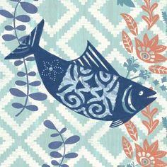 La Jolla Fish Coastal by Jennifer Brinley | Ruth Levison Design