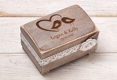 Hochzeit Ring Kasten, Ringschale, Ring Box