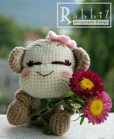 Amigurumi Monkey, (rabbitdesign).