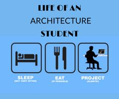 Life of an #Architecture Student