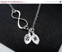 Hey, I found this really awesome Etsy listing at https://www.etsy.com/listing/125545996/on-sale-personalized-silver-infinity