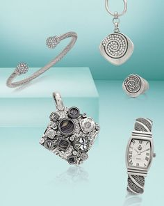 Must Have Bracelet, On Time Watch, Artistic Enhancer and Modern Day necklace and Ring