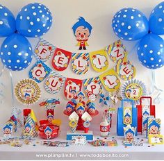 3rd Birthday Party For Boy, Birthday Themes For Boys, Circus Birthday, Baby Party, Birthday Party Themes, Circus Decorations, Ideas Para Fiestas, Party Planning, First Birthdays