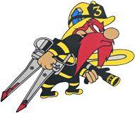 Yosemite Sam Firefighter Images, Maltese Cross Firefighter, Firefighter Decals, Firefighter Paramedic, Firefighter Quotes, Volunteer Firefighter, Firefighter Tattoos, Firefighters Wife, Firemen