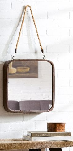 Discover the absolute best rope mirrors and nautical mirrors for your coastal home! We love adding mirrors to our nautical wall decor to complete a beach home. We have round, rectangle, square, and rope hanging mirrors.