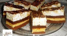 Nescafés krémes sütemény | Receptkirály.hu