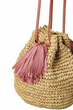 Bucket bag crochet #hilados