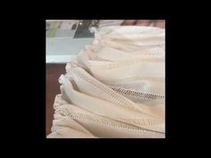 how to make a gathered twin bedskirt, AKA dust ruffle using an inexpensive Walmart bedskirt as the base and pattern.