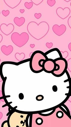 505 best hello kitty wallpaper images in 2019 Walpaper Hello Kitty, Hello Kitty Iphone Wallpaper, Ipod Wallpaper, Hello Kitty Backgrounds, Sanrio Wallpaper, Hello Kitty Art, Hello Kitty Themes, Hello Kitty Pictures, Kitty Images