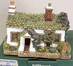 Lilliput Lane House    Rose Cottage At Skirgill    Without Dog Lying Beside