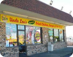 Uncle Lou's Fried Chicken in Memphis, TN - featured on Diners, Drive-Ins and Dives