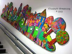 Studiofelter- so inspiring- work with grade school children!!!