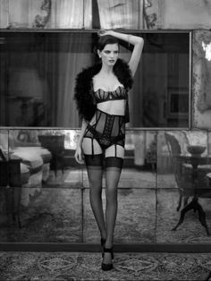love the lingerie, love the pose