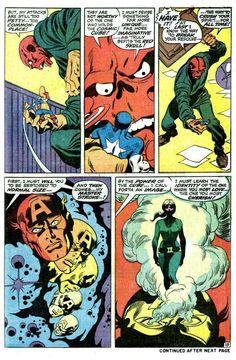 Captain America #115 (Marvel Comics - July 1969) Script: Stan LeeIllustrators: John Buscema (Pencils) & Sal Buscema (Inks)