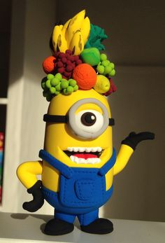 Minion frutero. Jumping Clay Gijon