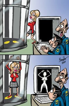 Airport Security Humor----What a Shock!!!!