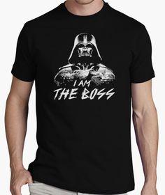 Camiseta i am the boss