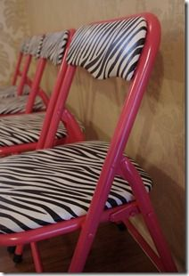 painted kids folding chairs