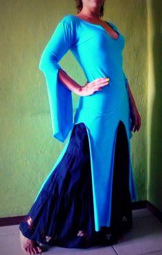 Saidi tunic Baladi tunic Belly Dance tunic Belly by Artemisya
