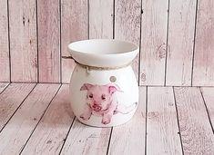 Wax Burner, Decoupage Art, Online Gift, Oil Burners, Memorial Gifts, Money Box, Wax Melts, Fragrance Oil, Piggy Bank