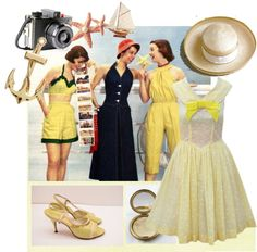 """1950s"" by sillybandz3 ❤ liked on Polyvore"