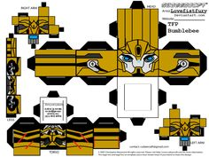 TRANSFORMERS PRIME BEE cubee part 1 by lovefistfury on deviantART