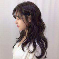 Korean Haircut Long, Korean Long Hair, Cut My Hair, Long Hair Cuts, Hairstyles Haircuts, Pretty Hairstyles, Medium Hair Styles, Curly Hair Styles, Ulzzang Hair