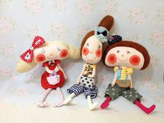 Doll Crafts, Diy Doll, Softies, Fabric Dolls, Paper Dolls, Handmade Soft Toys, Doll Quilt, Bunny Toys, Sewing Dolls