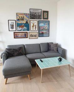 """KLINK DK on Instagram: """"Så fik det fine sofabord et nyt hjem😍"""" Couch, Photo And Video, Furniture, Instagram, Home Decor, Settee, Decoration Home, Sofa, Room Decor"""