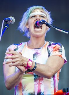 Tune-Yards perform at the 2014 Austin City Limits music festival on Sat., Oct. 4, 2014 at Zilker Park in Austin, TX. ASHLEY LANDIS/FOR AMERICAN-STATESMAN